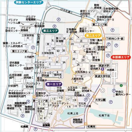 キャンパスマップのイメージ