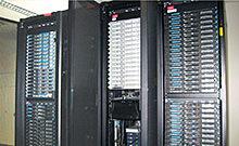 クラスタ計算機による高性能計算処理の写真