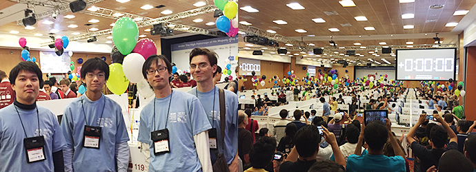 ACM 国際プログラミングコンテスト世界大会の写真